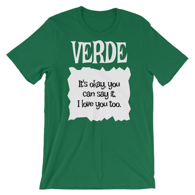 Verde -Taco Bell Hot Sauce Packets Halloween Taco Costume T-Shirt