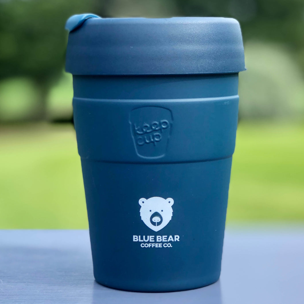 BLUE BEAR KEEP CUP - THERMAL NAVY 12oz/340ml