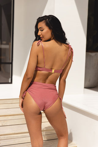 RYDER BRIEF - DUSTY ROSE RIB