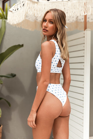 NUDEY BRIEF - WHITE WEAVE