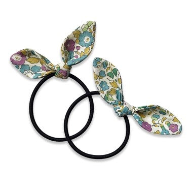 Suzanne - bunny hair ties - Knotty Tot