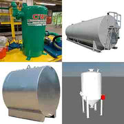 fluid air and sand tanks