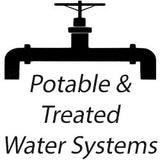potable and treated water systems