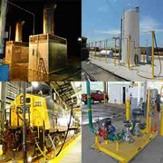 load cell enclosures, rail sand systems, truck loading systems