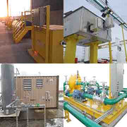 pump skids, airboxes, elevated platforms, service cabinets