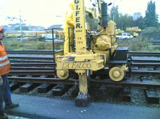 railroad maintenance of way equipment
