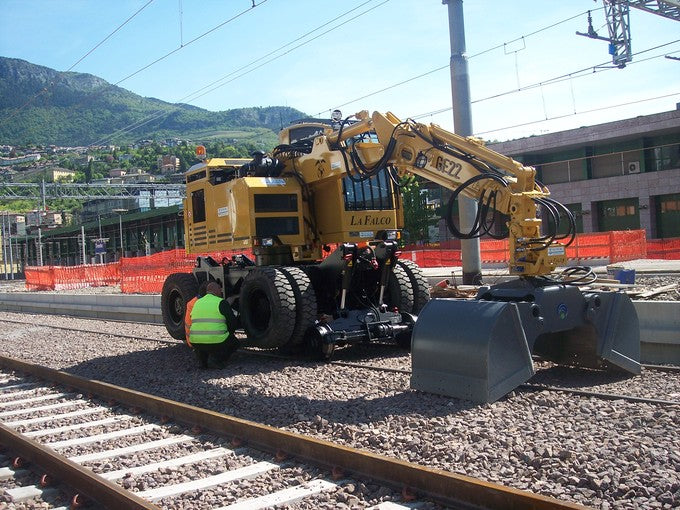 GF22 Road-Rail Loaders La Falco Railway Machines