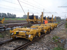 CTS30 track laying trolley