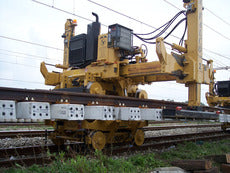 railroad track laying trolley