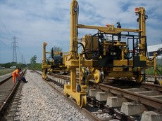 railroad maintenance of way machines