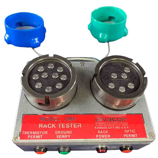 1386-1386 Optic and Thermistor Overfill Prevention Rack-Control Monitor Testers OPW Engineered Systems