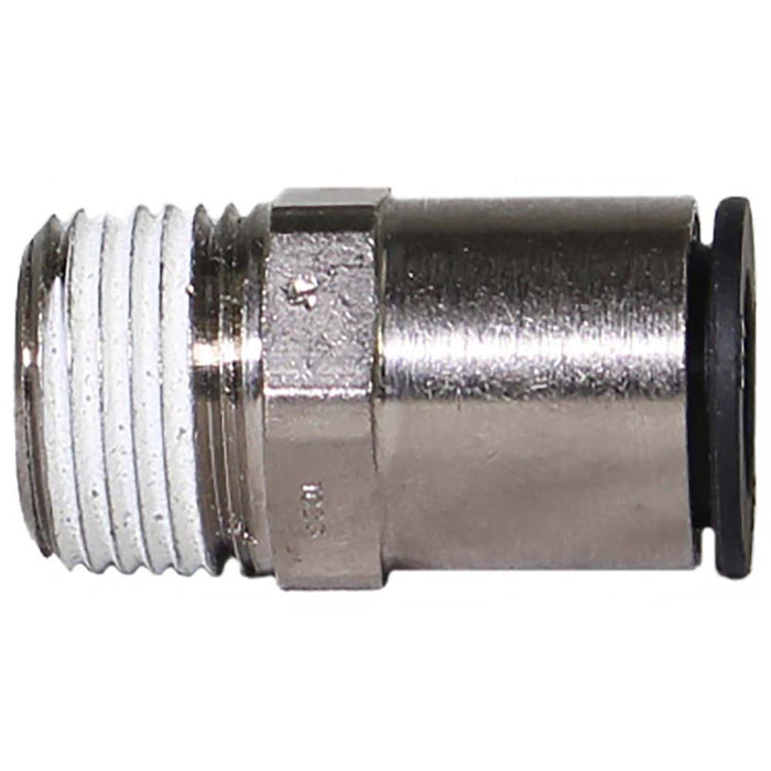 "5/8"" PTC by 1/2"" NPT straight pneumatic fitting railyardsupply.com"