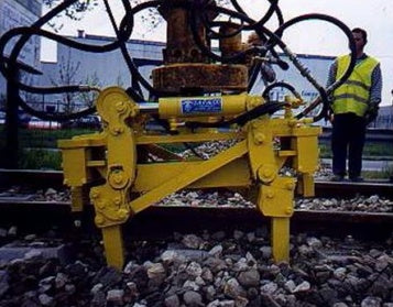 railroad track hydraulic ridging pliers with vibrating function