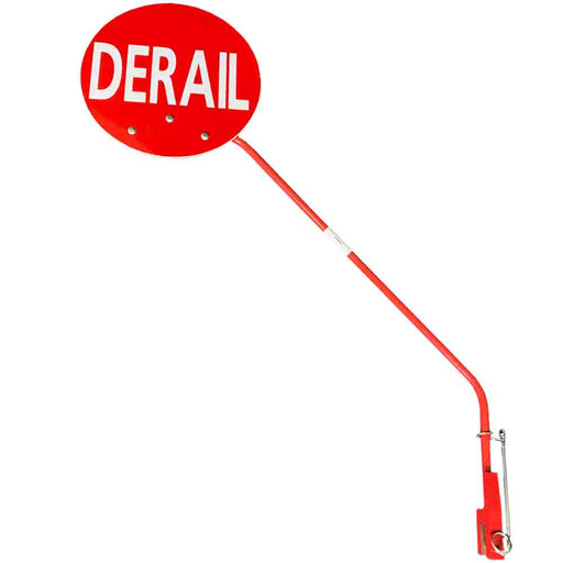 898020-103-03 Portable Derail Staff Assembly, Red