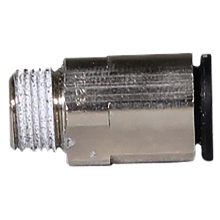 "8mm PTC by 1/8"" NPT straight pneumatic fitting railyardsupply.com"