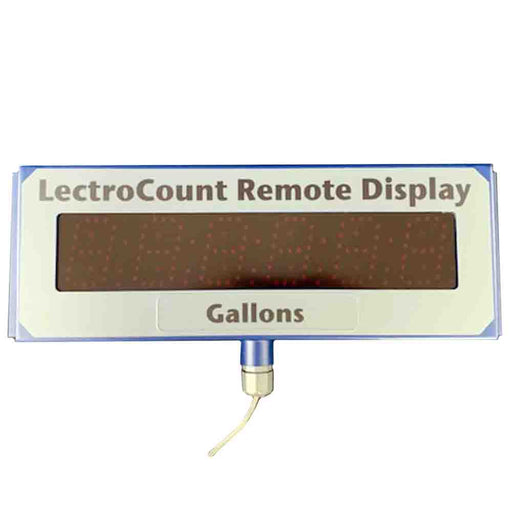 E1615 LectroCount LCR-II LCR-600 XL LED Remote Display Liquid Controls
