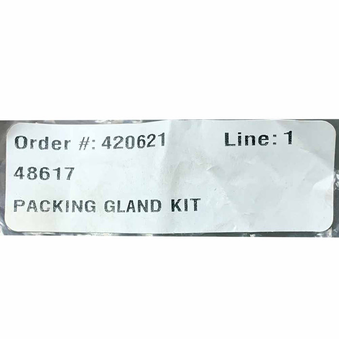 48617 Packing Gland Kit, Viton, Liquid Controls M5 M7 M15 Meters, Forked Style