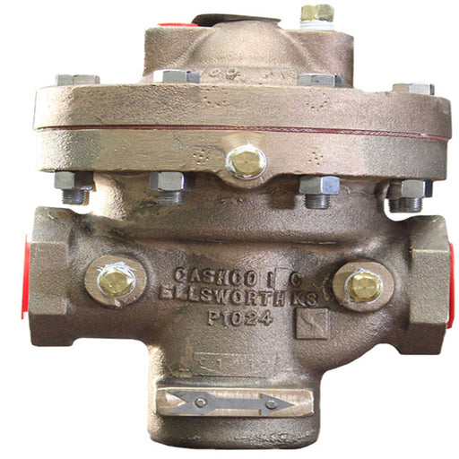 Cashco DA4-DN25 main body pressure regulator meets FRA standards railyardsupply.com