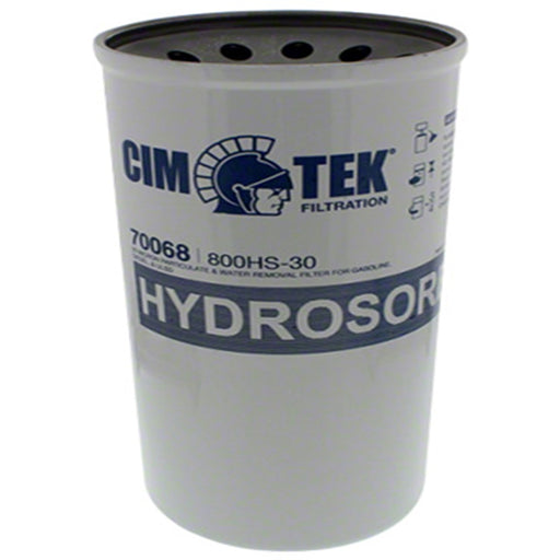cim-tek 800HS-30 screw on fuel filter