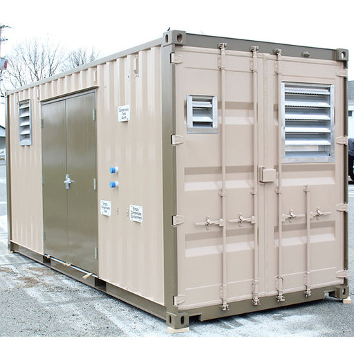 Airbox; Modified Shipping Containers Air Compressor Systems