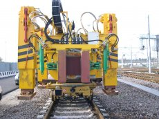 CTS80 Track and Switch Laying Trolley La Falco Railway Machines