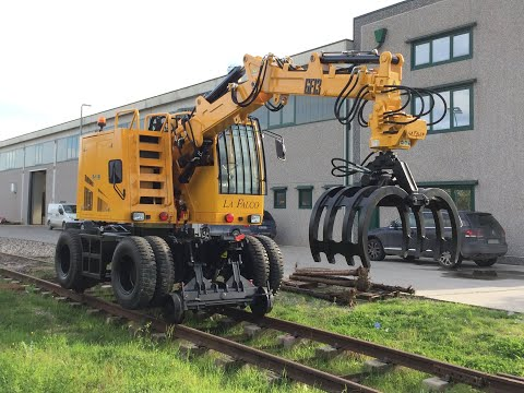 GF13 Road-Rail Loaders La Falco Railway Machines