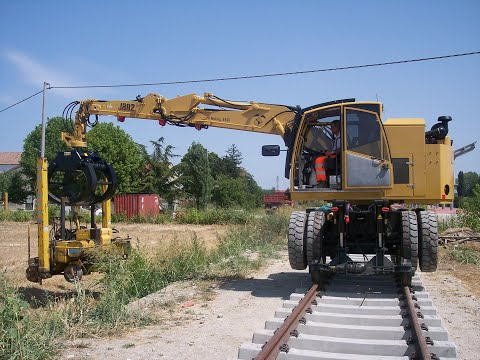 J882 Road-Rail Loaders La Falco Railway Machines