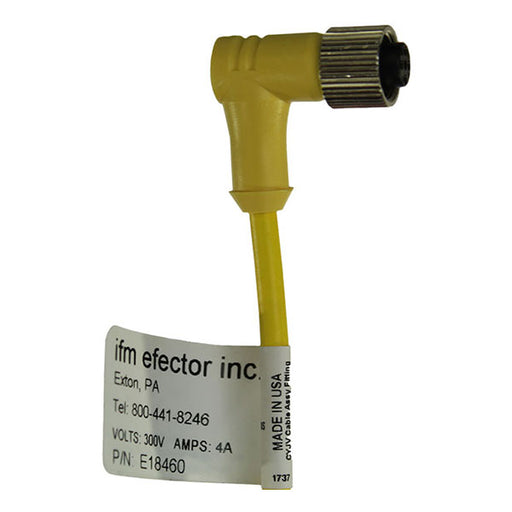 IFM Efector inc M12 connector wires for sand level sensor in locomotive sanding systems