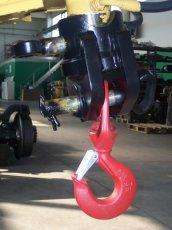 GNSA hook for crane road-rail loader attachments