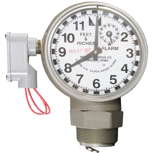 morrison bros 918 clock tank gauge with 918s alarm railyardsupply.com