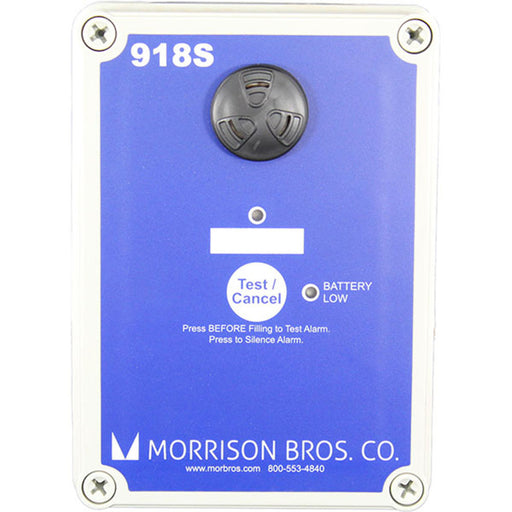 Morrison Bros 918S-1100 AA Single Channel Tank Alarm Box, Battery Powered