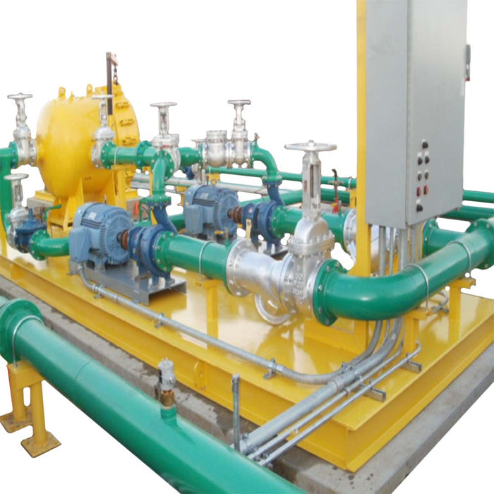outbound pump skid