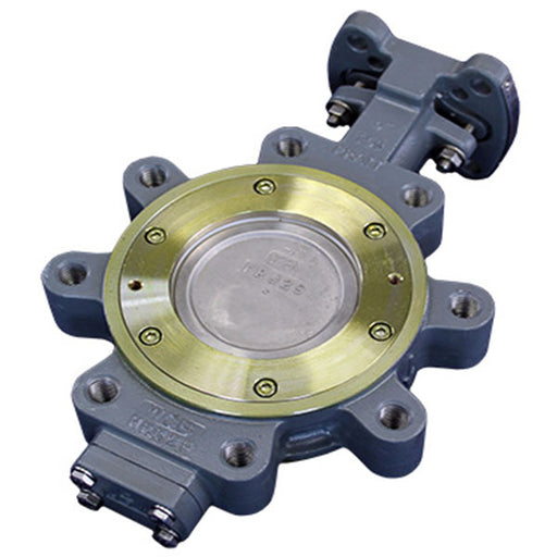 "Pratt low temperature metal seated 4"" butterfly valve rydm railyardsupply.com"