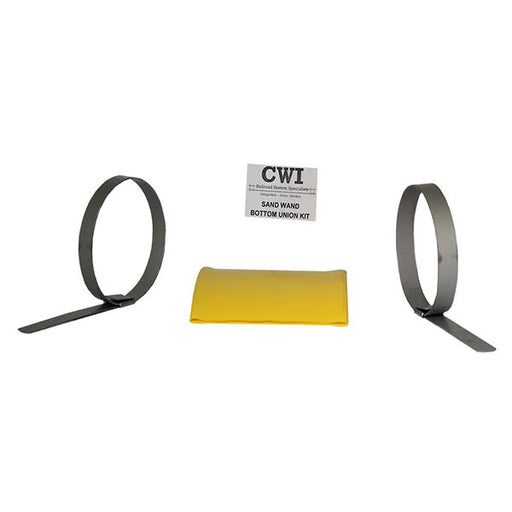 CWI railroad system specialists bottom union kit for sand wands for locomotive sand systems