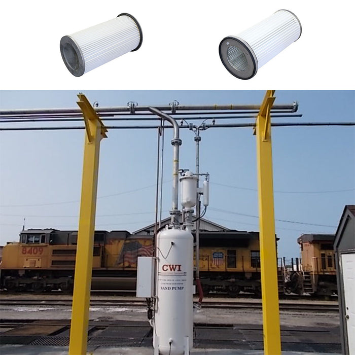 secondary dust collector filters, RYSX sand systems for locomotive service facilities mechanical