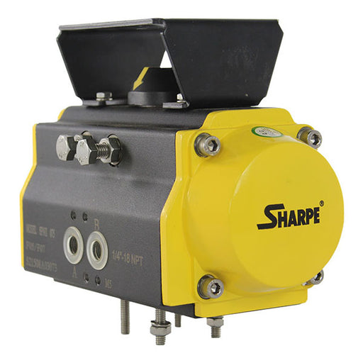 sharpe spnII 075 pneumatic double acting actuator railyardsupply.com