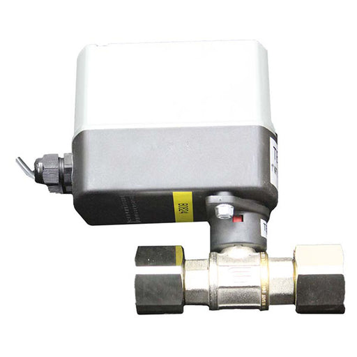 "tec-44 automated motorized 1"" NPT drain ball valve railyardsupply.com"