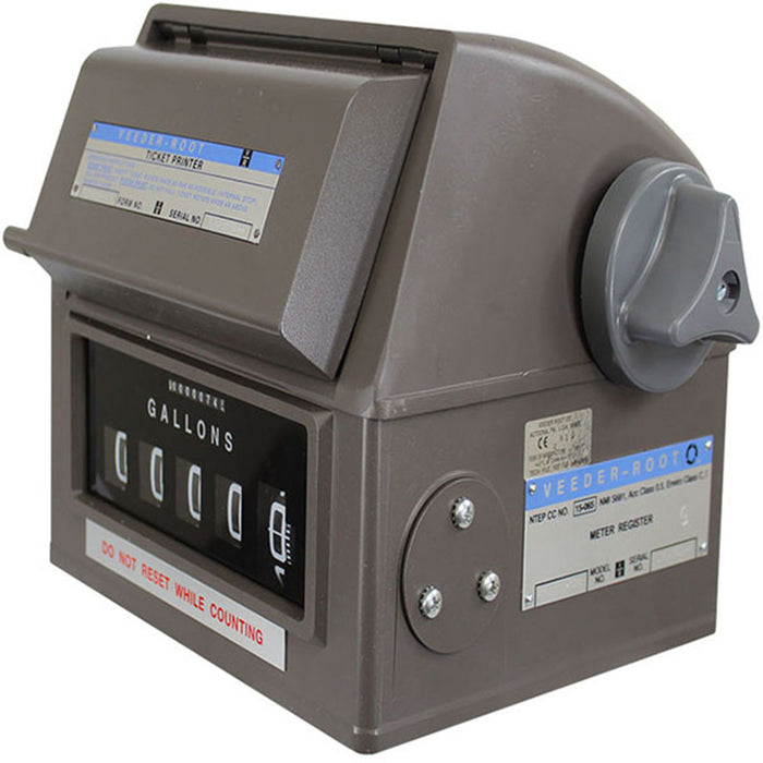 Veeder-Root Meter Register with Printer and Pulser 789030-003