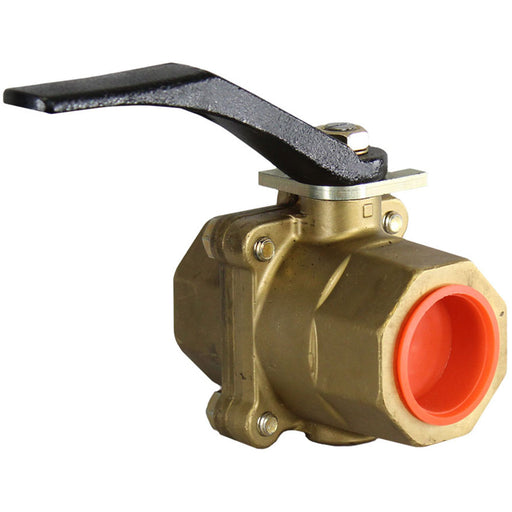 "wabtec 1-1/4"" vented ball valve brass 309151 railyardsupply.com"