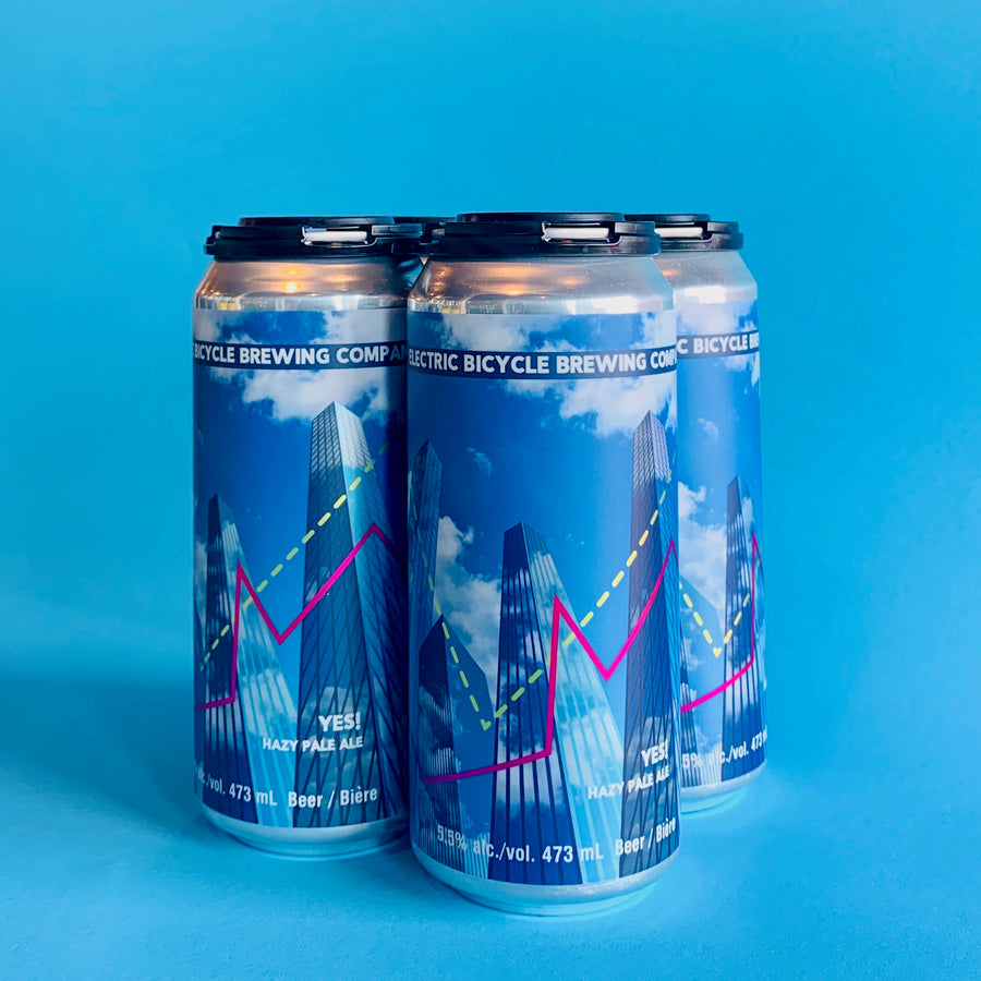 YES! Hazy Pale Ale 4x473ml Tall Cans