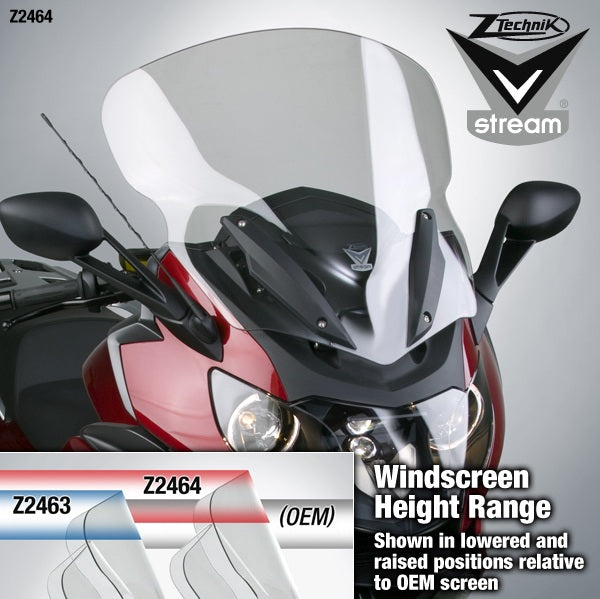 ZTechnik K1600GTL|K1600GT VStream Windshield