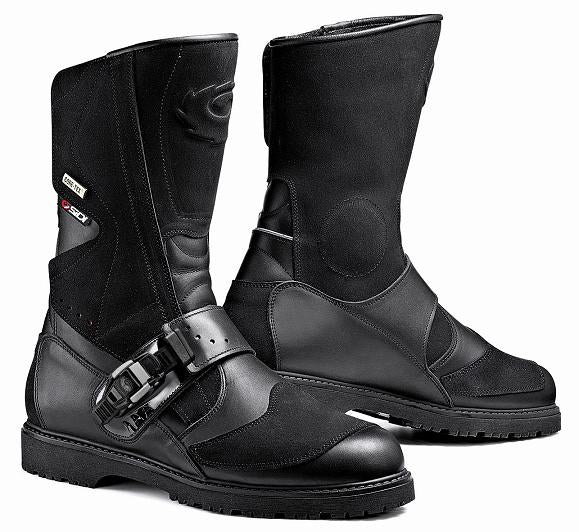 Sidi Canyon Gore-Tex Black Motorcycle Boot