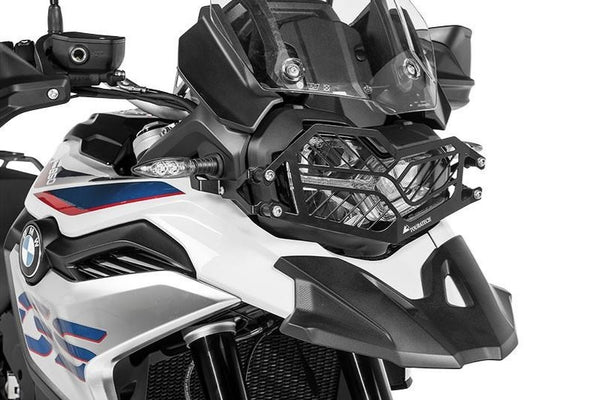 Touratech F850GS|F750GS Quick Release Stainless Steel Headlight Guard