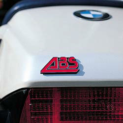 BMW Motorcycles ABS Emblem