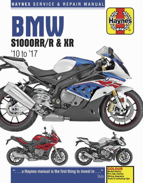 Clymer S1000 Series (10-17) Repair Manual