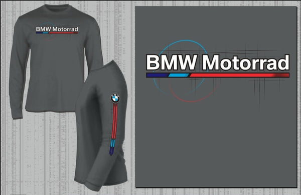 BMW Motorcycles Motorsport Longsleeve Shirt (Grey)