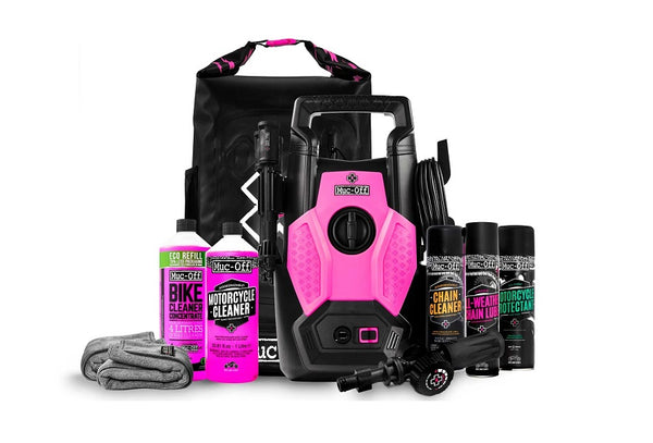 Muc-Off Motorcycle Pressure Washer - Motorcycle Bundle