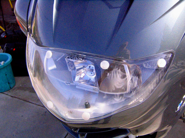 AeroFlow R1150RT HLC Headlight Cover