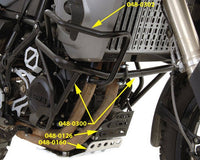 Touratech F800GS|F650GS2 (-12) Upper Crash Bars
