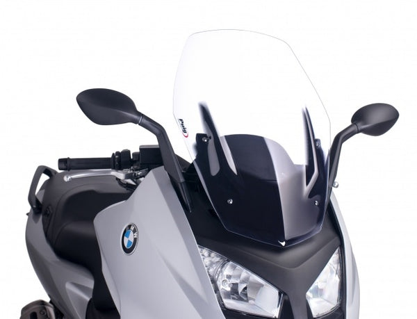 Puig C600 Sport V-Tech Sport Clear Windshield DISPLAY